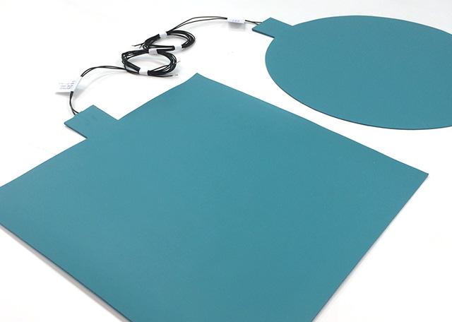 Couvertures chauffantes ultra-fines en silicone
