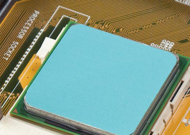 Tampon en silicone à haute conductivité thermique